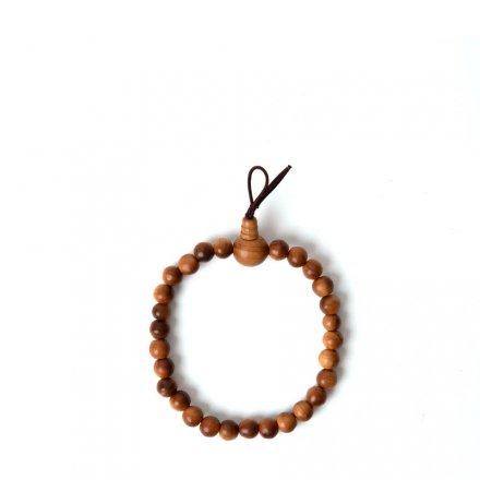 Sandelholz Gebetsperlen Armband L