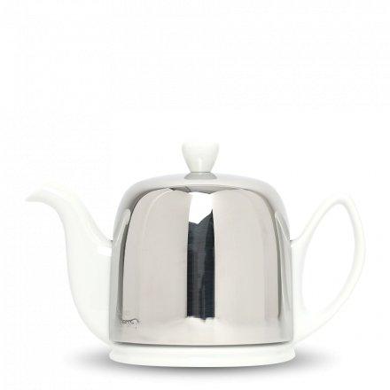 Degrenne Porzellan TeekanneSalam Weiß 4 Tassen