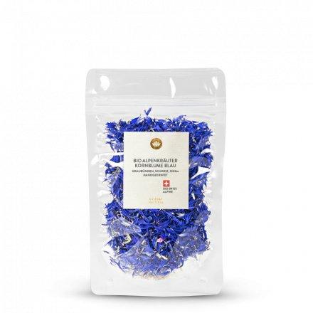 Kornblume Blau Bio Alpenkräuter