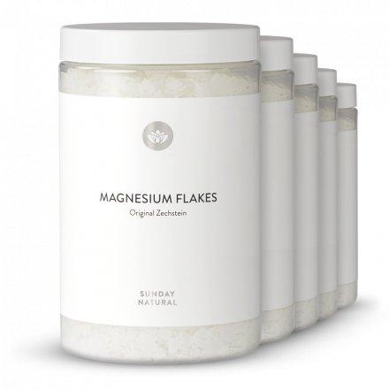 Magnesium Flakes Zechstein Set 5kg