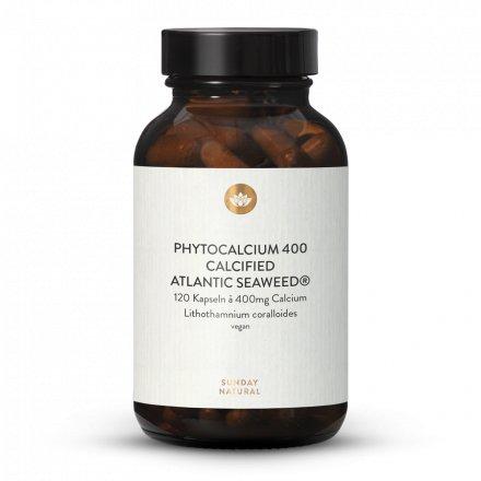 Calcium Natürlich 400mg Hochdosiert Kapseln