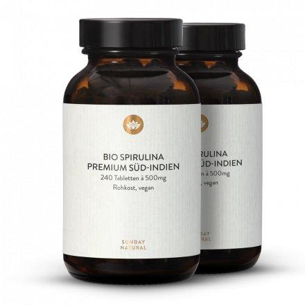 Bio Spirulina Blau Tabletten
