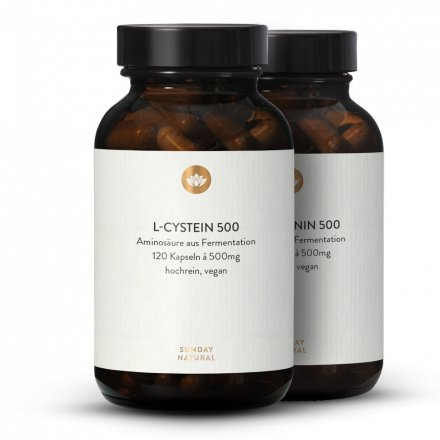 Cystin + Methionin Set Aus Fermentation, Vegan