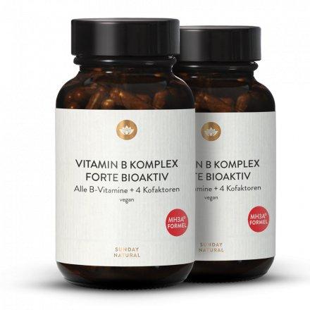 B-Komplex Forte Mit Kofaktoren & B12 MH3A® 500 Hochdosiert