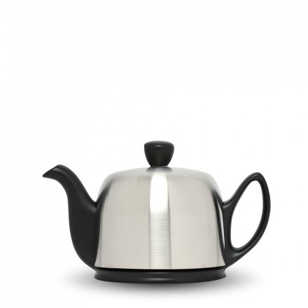 Degrenne Porzellan Teekanne Salam Schwarz 2 Tassen