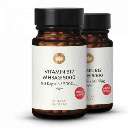 Vitamin B12 MH3A® Formel 5000µg Bioaktiv