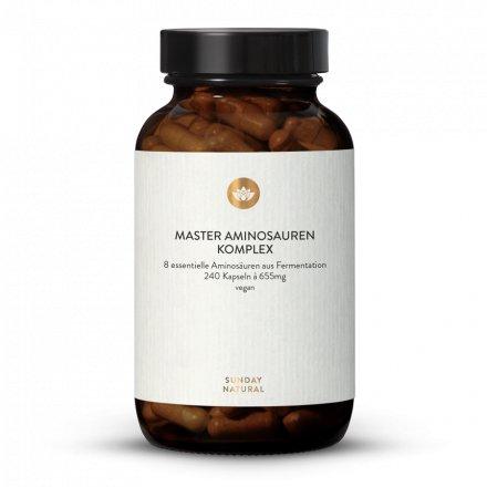 Master Aminosäuren Komplex Kapseln aus Fermentation, vegan