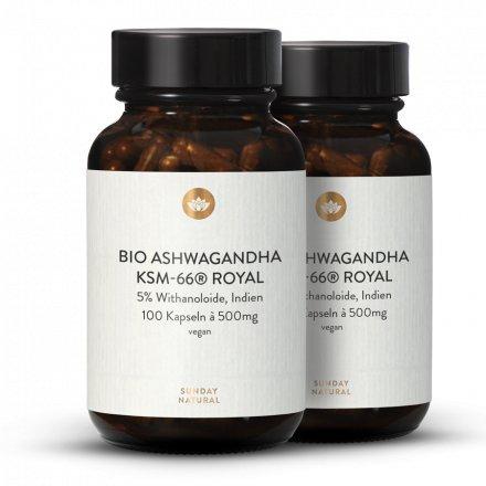 Bio Ashwagandha KSM-66® Royal Kapseln