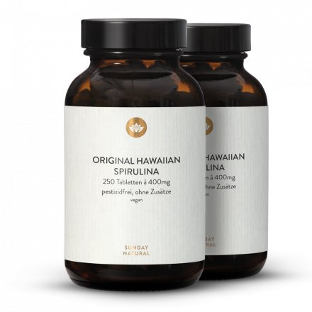 Hawaiian Spirulina Tabletten