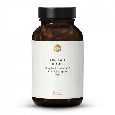 Omega 3 DHA 400mg Vegan