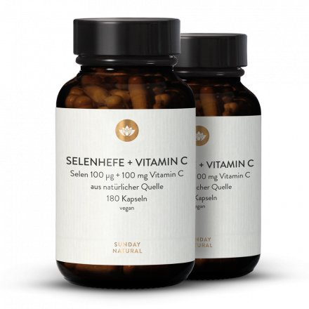 Selenhefe + Vitamin C