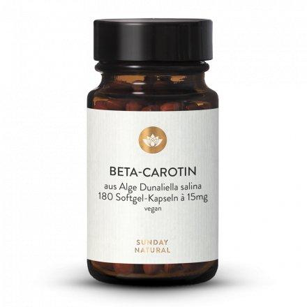 Beta-Carotin 15mg Softgel Kapseln