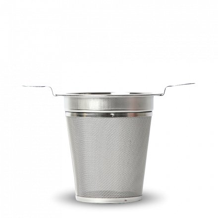Tee Filter Doppelhenkel Edelstahl