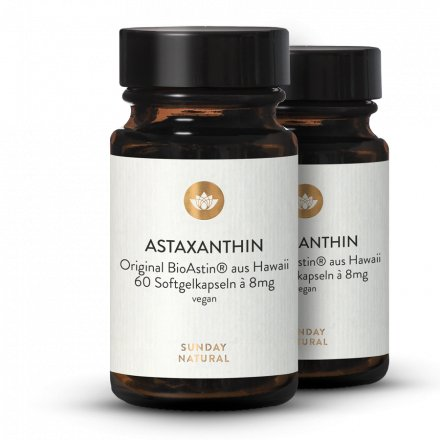 Astaxanthin 8mg Softgels