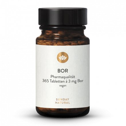 Bor Tabletten 3mg Natriumborat