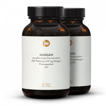 Mangan Gluconat Tabletten 10mg