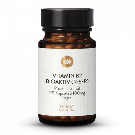 Vitamin B2 100mg Bioaktiv R-5-P Hochdosiert