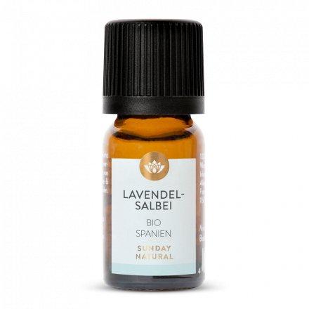 Lavendelsalbeiöl Bio
