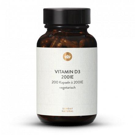 Vitamin D3 200 IE 200 Kapseln