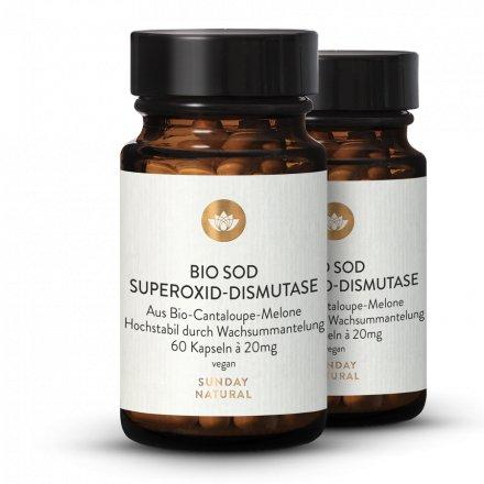 Bio SOD Kapseln Superoxid-Dismutase
