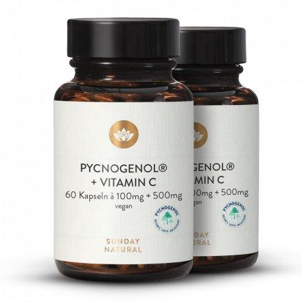 Pycnogenol® 100+C Kiefernrindenextrakt