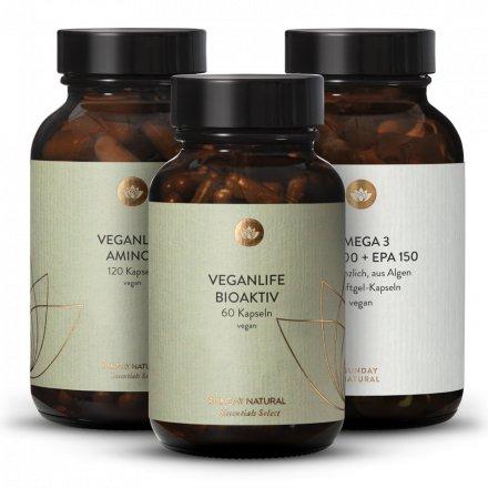 Veganlife Bioaktiv + Amino+ + Omega 3 Komplex