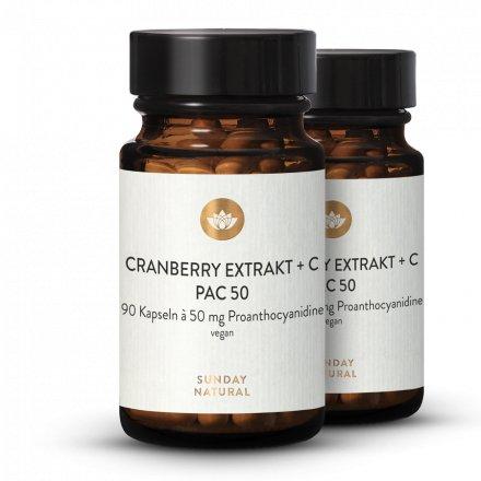 Cranberry Extrakt PAC 50 + C