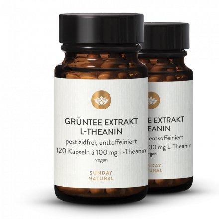 Grüntee Extrakt  L-Theanin 100 mg
