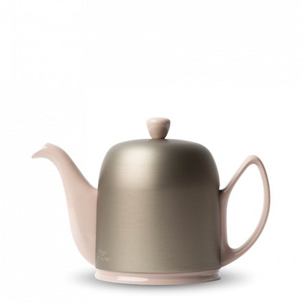 Degrenne Porzellan Teekanne Salam Rosa Matt 6 Tassen