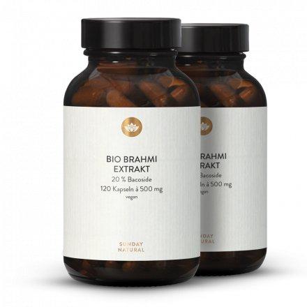 Bio Brahmi Extrakt Kapseln