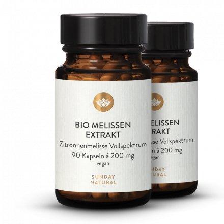 Bio Melissen Extrakt Kapseln
