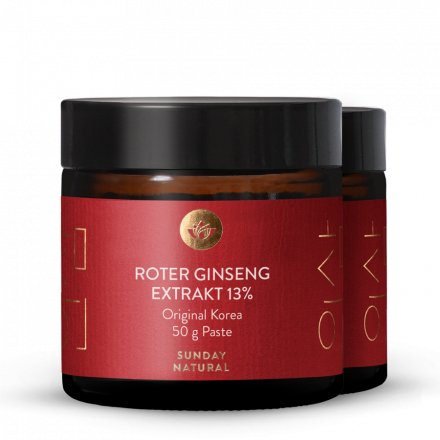 Roter Ginseng Extrakt Paste 13%