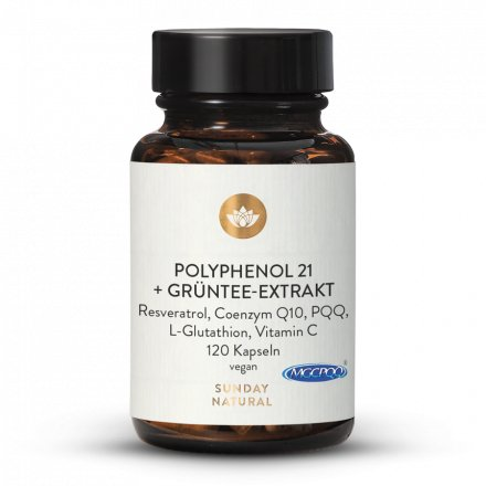 Polyphenol 21 + Grüntee Extrakt