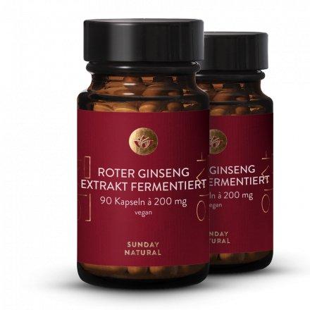 Roter Ginseng Extrakt fermentiert
