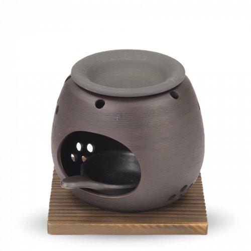 Räucherstövchen Tee & Sanftes Verglimmen Schwarz