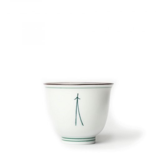 Teetasse Japan Porzellan Matsuba Groß