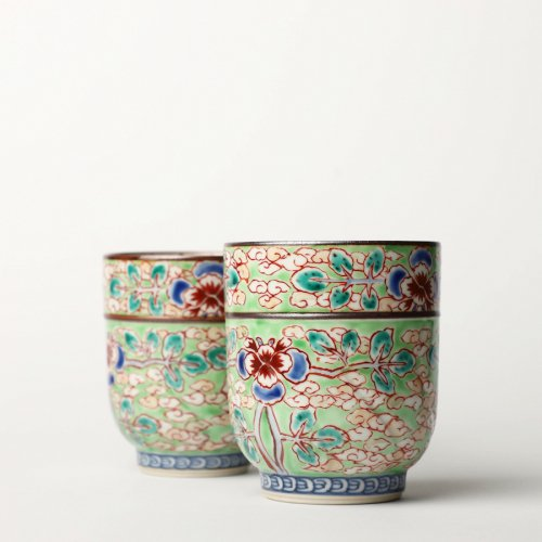 Teetassen Set Japan Porzellan Ichiraku Hiwakaun