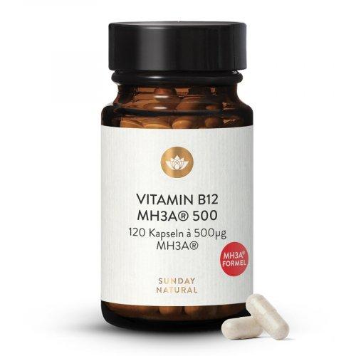 Vitamin B12 MH3A® Formel 500µg Bioaktiv