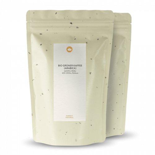 Bio Grüner Kaffee Pulver