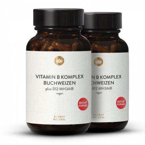 Vitamin-B-Komplex   + B12 MH3A® Kapseln