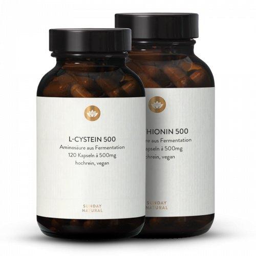 Cystein + Methionin Set Aus Fermentation, Vegan