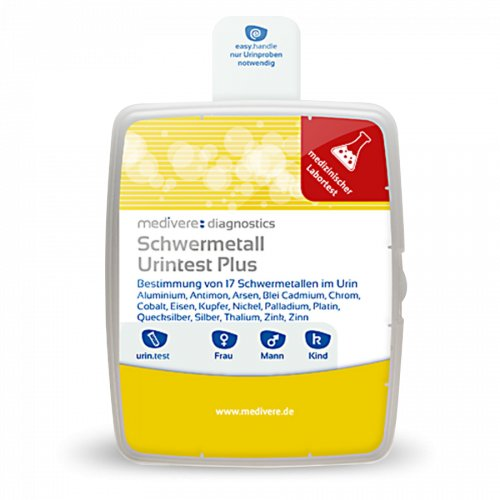 Schwermetall Urintest Plus