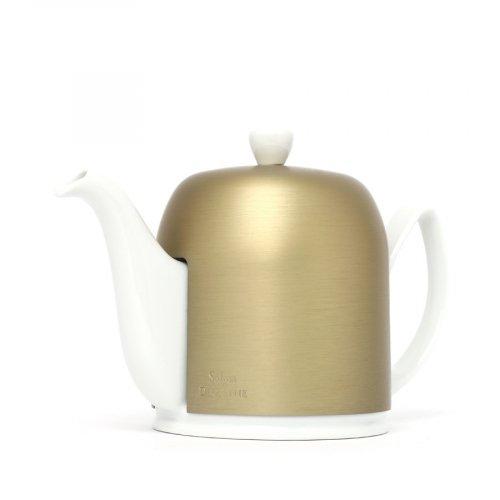 Degrenne Porzellan Teekanne Salam Bronze 6 Tassen