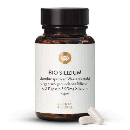 Bio Silizium Kapseln Bambussprossen Extrakt