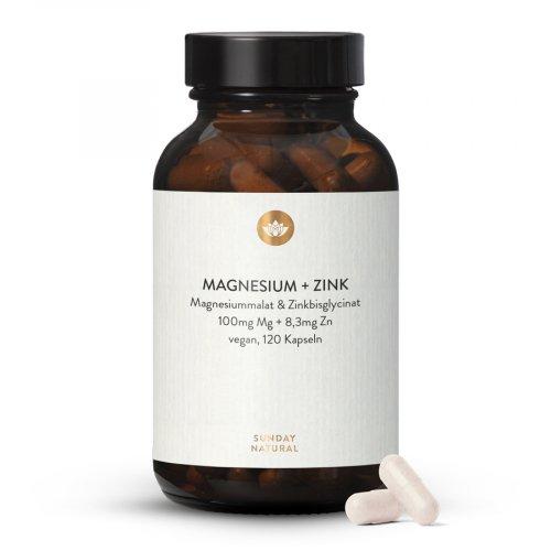 Zink Magnesium ZMA Kapseln