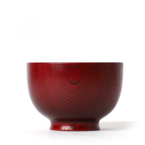 Japanisches Geschirr Holz Keyaki Aka-Suri