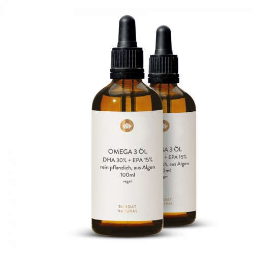 Omega 3 Öl DHA + EPA Vegan