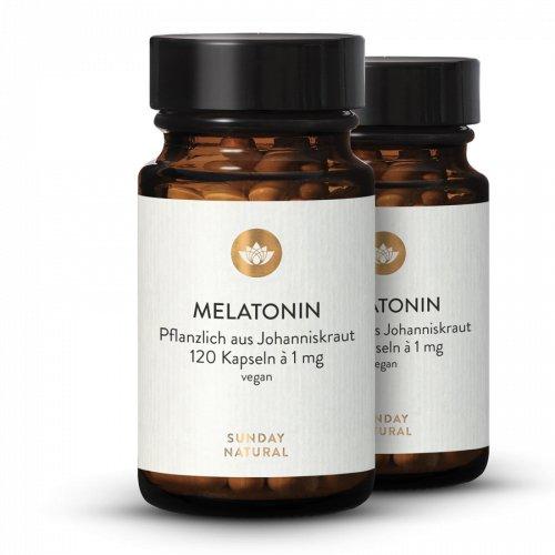 Melatonin Pflanzlich 1mg Kapseln