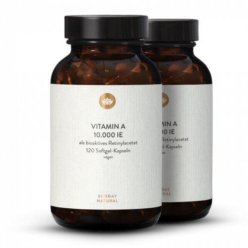 Vitamin A 10.000 IE Hochdosiert