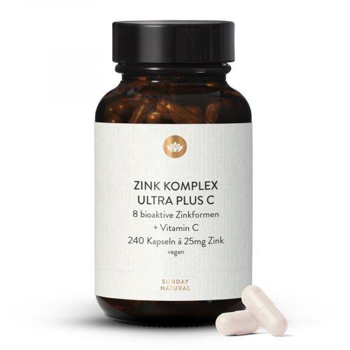 Zink Komplex  Ultra Plus C Kapseln